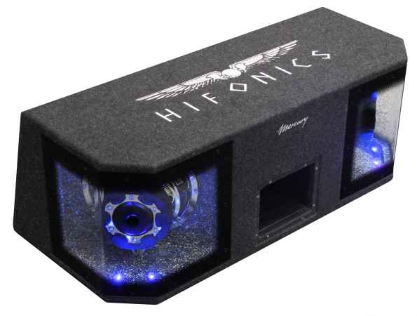 Hifonics MR-8DUAL vorne links blau